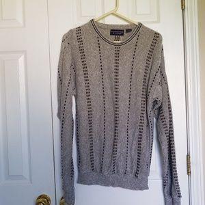 Men's Sweater  Gray Small